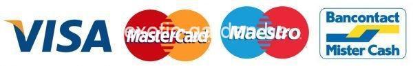 visa mastercard bancontact mister cash 2